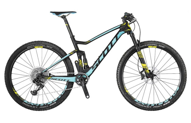 Mountainbike Scott Contessa Spark RC 700 2017
