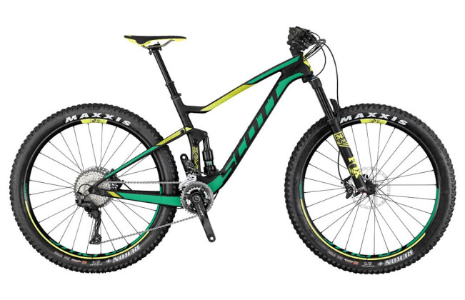 Mountainbike Scott Contessa Spark 710 Plus 2017