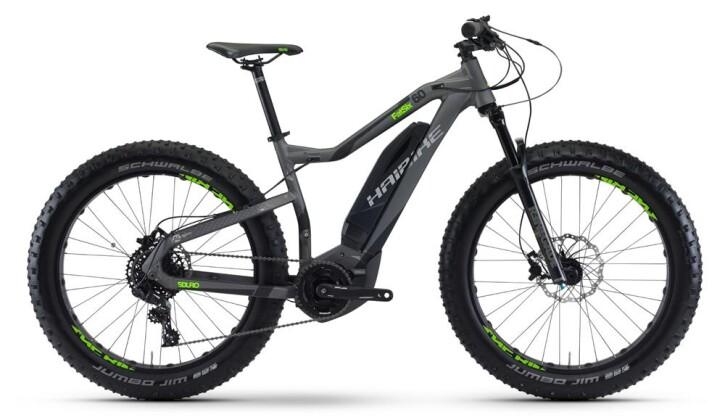 E-Bike Haibike SDURO FatSix 6.0 2017