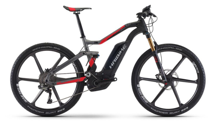 E-Bike Haibike XDURO FullSeven Carbon 10.0 2017