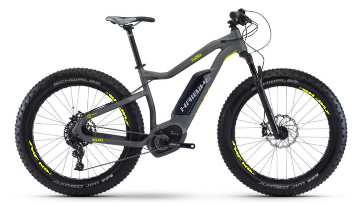 E-Bike Haibike XDURO FatSix 6.0 2017