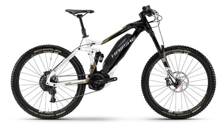 E-Bike Haibike SDURO NDURO 8.0 2017