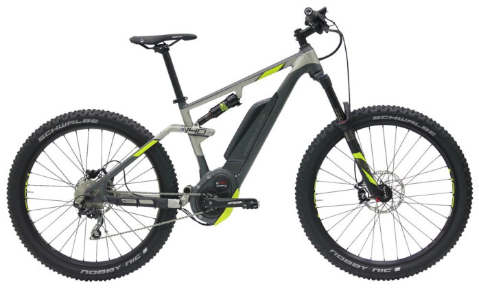 E-Bike Hercules NOS FS CX COMP 2017