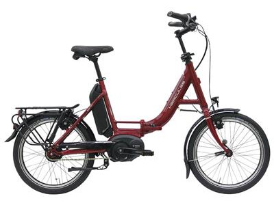 """Hercules Rob Fold R8 20"""" Faltrad rot-glänzend Vorführrad"""