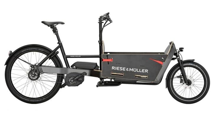 E-Bike Riese und Müller Packster nuvinci 60 2017