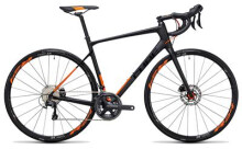Rennrad Cube Attain GTC SL Disc carbon´n´flashorange