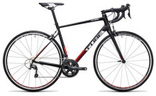 Rennrad Cube Attain Race black´n´red