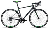 Rennrad Cube Attain black´n´green