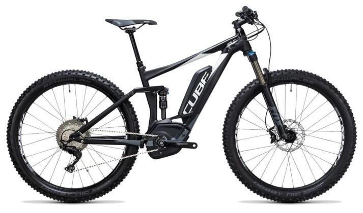 E-Bike Cube Stereo Hybrid 120 HPA SL 500 27.5+ black´n´white 2017