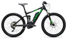 E-Bike Cube Stereo Hybrid 120 HPA Race 500 27.5+ black´n´green
