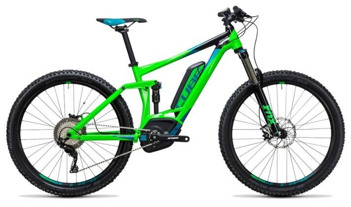 E-Bike Cube Stereo Hybrid 140 HPA Pro 500 27.5 2017