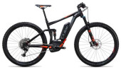 E-Bike Cube Stereo Hybrid 120 HPA SL 500 black´n´flashred
