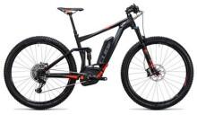 E-Bike Cube Stereo Hybrid 120 HPA SL 500 black´n´flashred