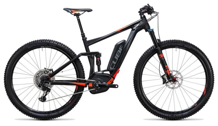 E-Bike Cube Stereo Hybrid 120 HPA SL 500 black´n´flashred 2017