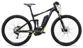 E-Bike Cube Stereo Hybrid 120 HPA Pro 400 black´n´flashyellow
