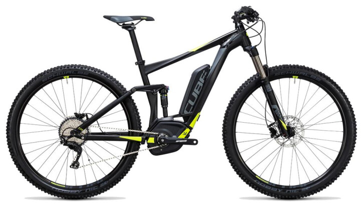 E-Bike Cube Stereo Hybrid 120 HPA Pro 400 black´n´flashyellow 2017