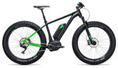 E-Bike Cube Nutrail Hybrid 500 black´n´green