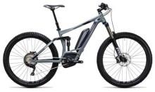 E-Bike Cube Sting WLS Hybrid 140 SL 500 27.5 grey´n´aubergine