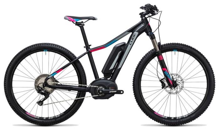 E-Bike Cube Access WLS Hybrid Race 500 black´n´grey 2017
