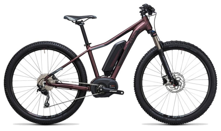 E-Bike Cube Access WLS Hybrid Pro 400 hazy purple´n´grey 2017