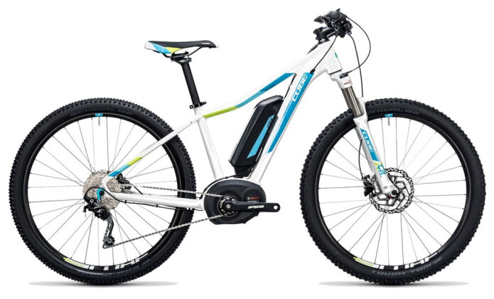 E-Bike Cube Access WLS Hybrid Pro 500 white´n´blue 2017