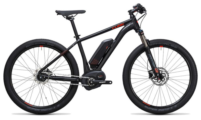 E-Bike Cube SUV Hybrid Pro 500 27.5 black´n´flashred 2017