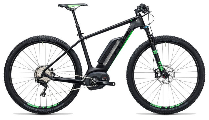 E-Bike Cube Elite Hybrid C:62 SL 500 29 carbon´n´flashgreen 2017