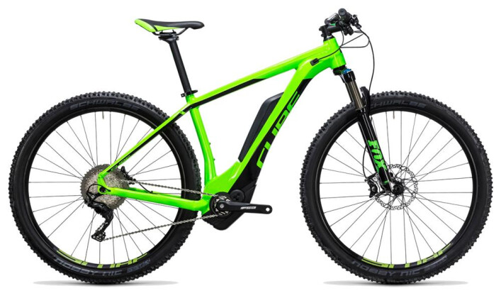 E-Bike Cube Reaction Hybrid HPA SLT 500 green´n´flashgreen 2017