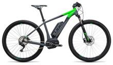 E-Bike Cube Reaction Hybrid HPA Race 500 grey´n´flashgreen