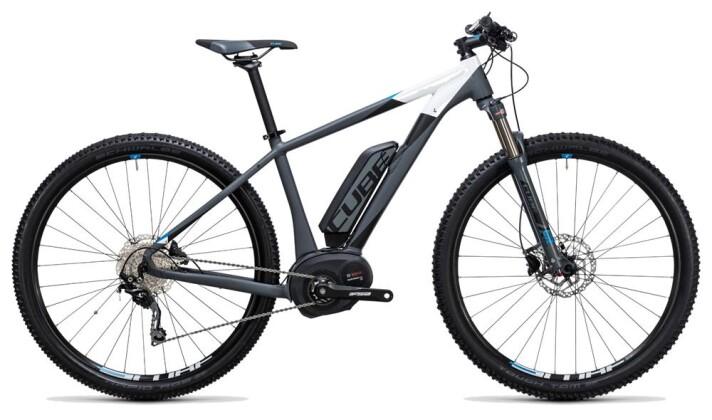 E-Bike Cube Reaction Hybrid HPA Pro 500 grey´n´blue 2017