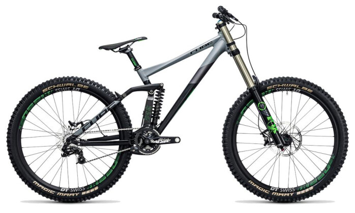 Mountainbike Cube TWO15 HPA Race 27.5 black´n´green 2017