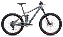 Mountainbike Cube Stereo 160 C:62 SL 27.5 grey´n´flashred