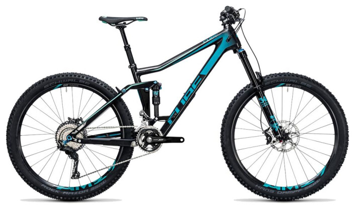 Mountainbike Cube Stereo 160 C:62 Race 27.5 carbon´n´blue 2017