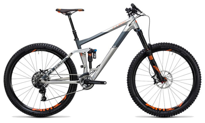 Mountainbike Cube Stereo 160 HPA TM 27.5 raw´n´flashorange 2017