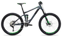 Mountainbike Cube Stereo 160 HPA SL 27.5 iridium´n´green