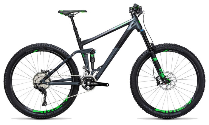 Mountainbike Cube Stereo 160 HPA SL 27.5 iridium´n´green 2017