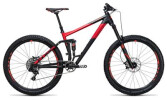 Mountainbike Cube Stereo 160 HPA Race 27.5 black´n´red