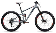 Mountainbike Cube Stereo 150 HPA Race 27.5+ grey´n´flashred