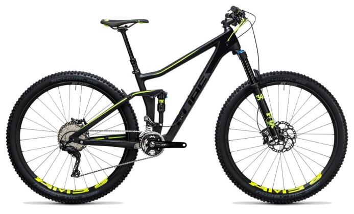 Mountainbike Cube Stereo 140 C:62 SL 29 carbon´n´flashyellow 2017