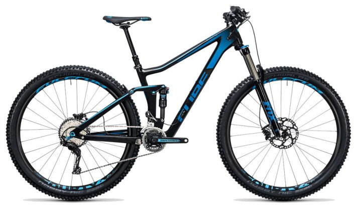 Mountainbike Cube Stereo 140 C:62 Race 29 carbon´n´blue 2017