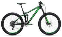 Mountainbike Cube Stereo 140 C:62 SL 27.5 carbon´n´green