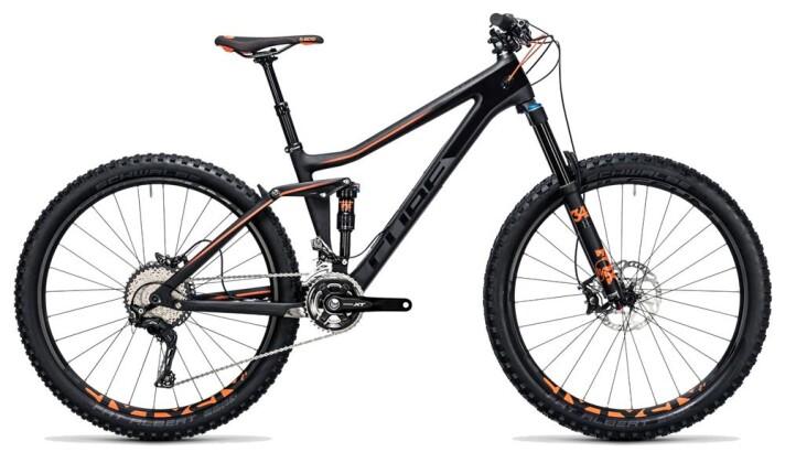 Mountainbike Cube Stereo 140 C:62 Race 27.5 carbon´n´flashorange 2017