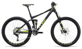 Mountainbike Cube Stereo 140 HPA Race 27.5 black´n´flashyellow