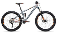 Mountainbike Cube Stereo 140 HPA Pro 27.5 grey´n´flashorange