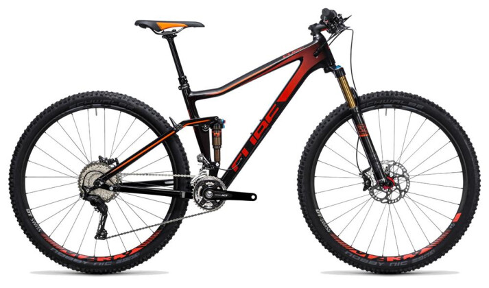 Mountainbike Cube Stereo 120 HPC SL carbon´n´red 2017