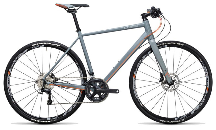 Crossbike Cube SL Road SL grey´n´flashorange 2017