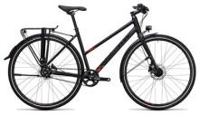 Citybike Cube Travel SL black´n´red