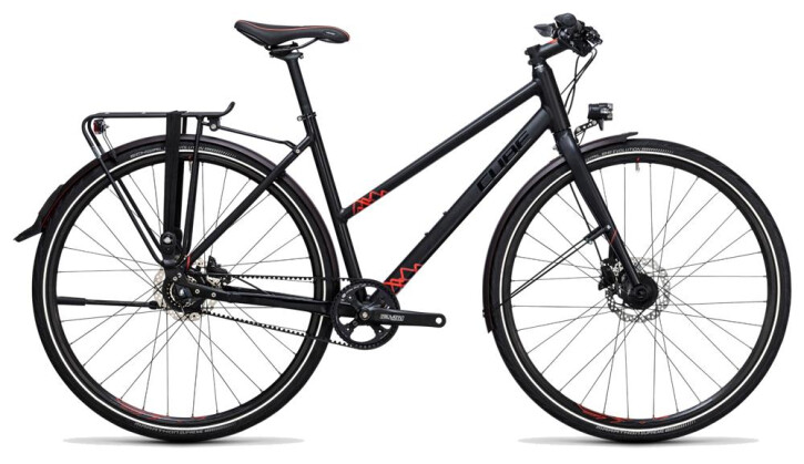 Citybike Cube Travel SL black´n´red 2017