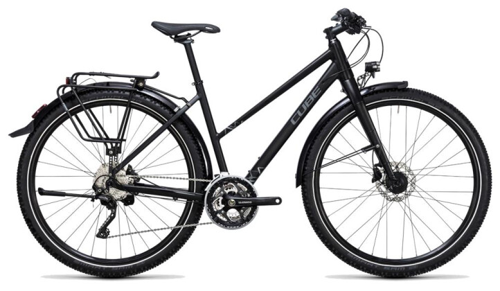 Trekkingbike Cube Travel Exc black´n´grey 2017