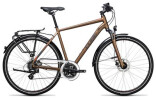 Trekkingbike Cube Touring Pro havanna brown´n´orange